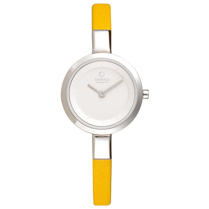 Obaku Women watch SIV - HONEY FRONT view
