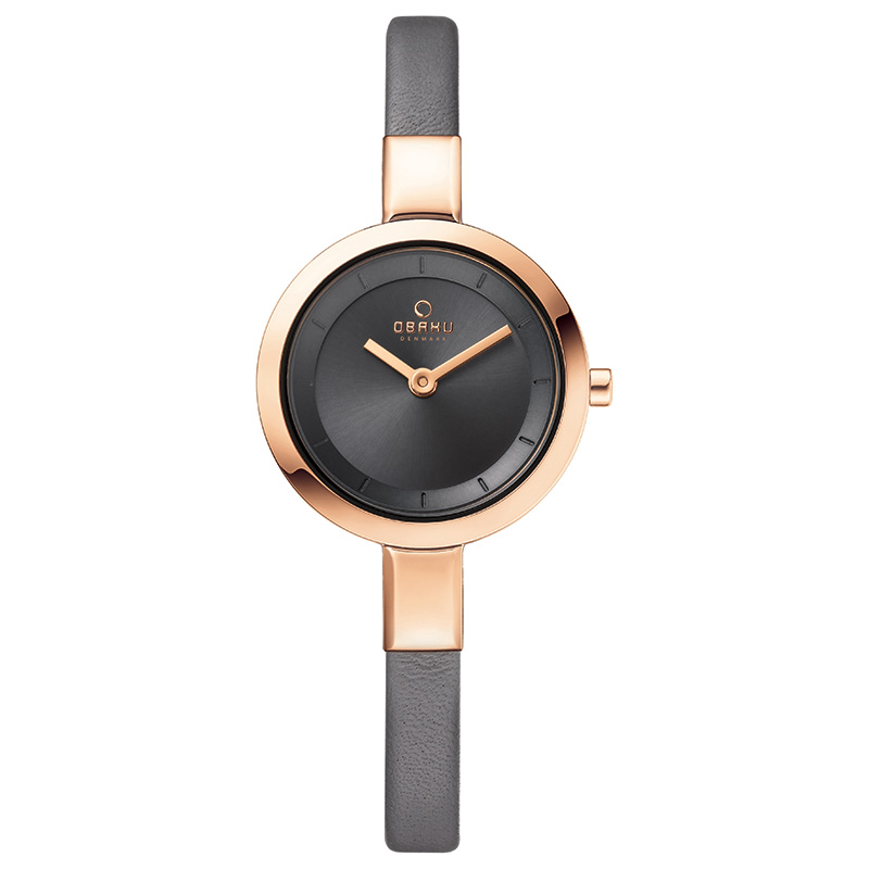 Obaku Women watch SIV - PEBBLE FRONT view