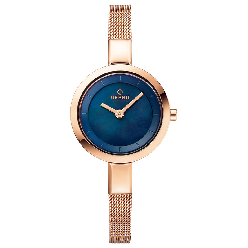 Obaku Women watch SIV - AZURE FRONT view