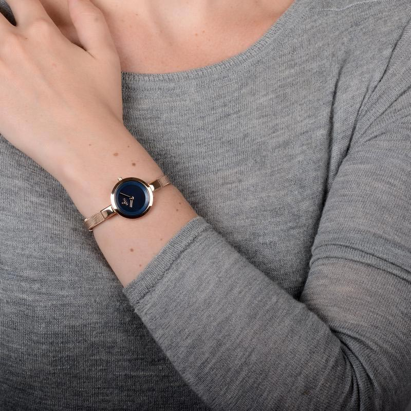 Obaku Women watch SIV - AZURE WRIST view