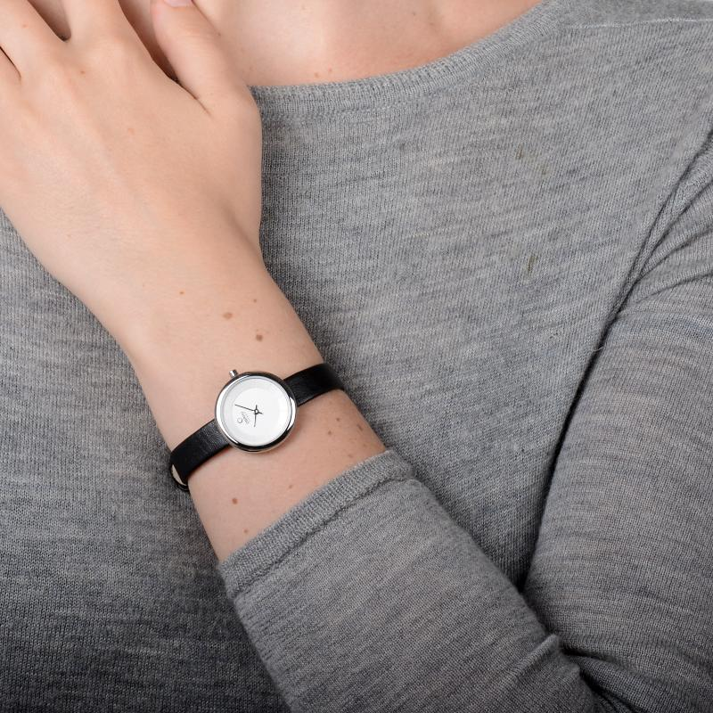 Obaku Women watch STILLE - BLACK SM1 view