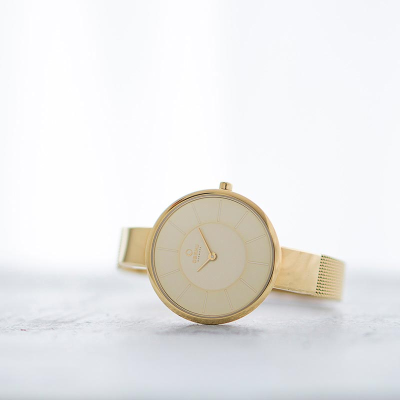 Obaku Women watch SOL - GOLD SM1 view