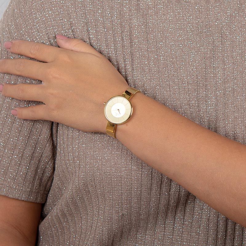 Obaku Women watch SOL - GOLD WRIST view