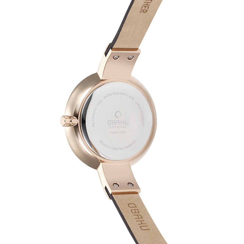 Obaku Women watch SOL - HAZEL BACK view