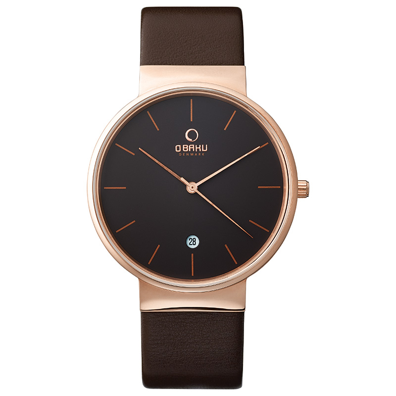 Obaku Men watch KLAR - HAZEL FRONT view