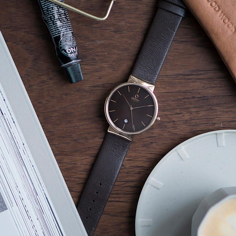 Obaku Men watch KLAR - HAZEL SM1 view