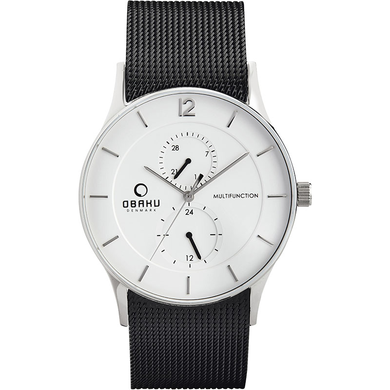 Obaku Men watch TORDEN - PITCH FRONT view
