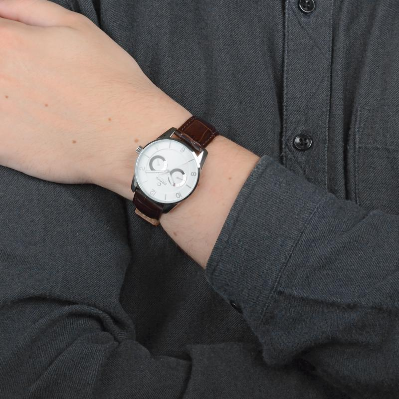 Obaku Men watch FLINT - MOCHA SM1 view