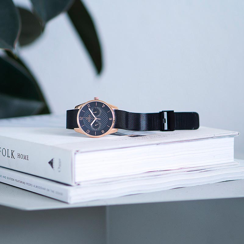 Obaku Men watch FLINT - NIGHT SM1 view
