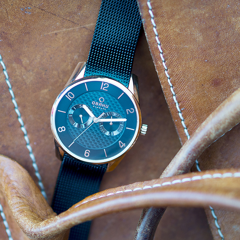 Obaku Men watch FLINT - NIGHT SM3 view