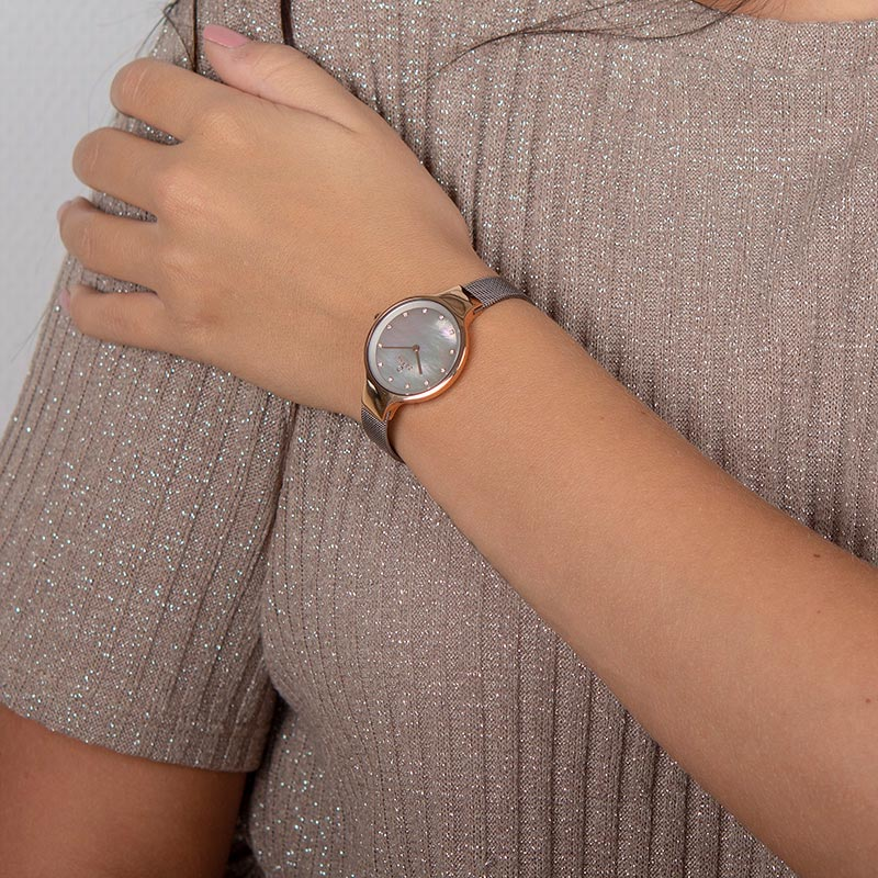 Obaku Women watch SKY - GRANITE WRIST view