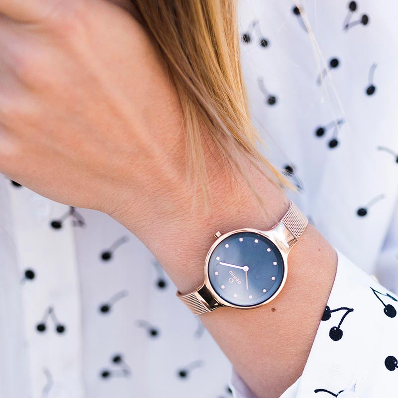 Obaku Women watch SKY - AZURE SM1 view