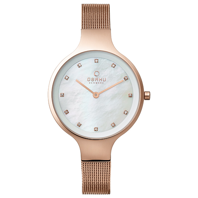 Obaku Women watch SKY - ROSE FRONT view