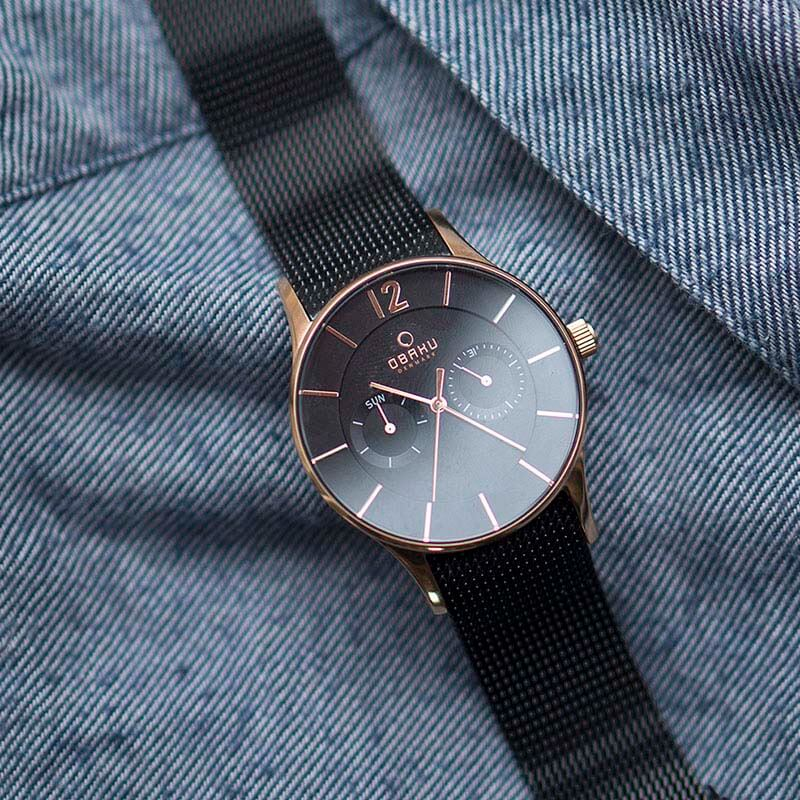 Obaku Men watch VILD - NIGHT SM1 view