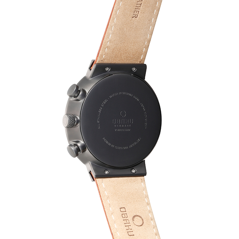 Obaku Men watch STORM - GUNTAN BACK view