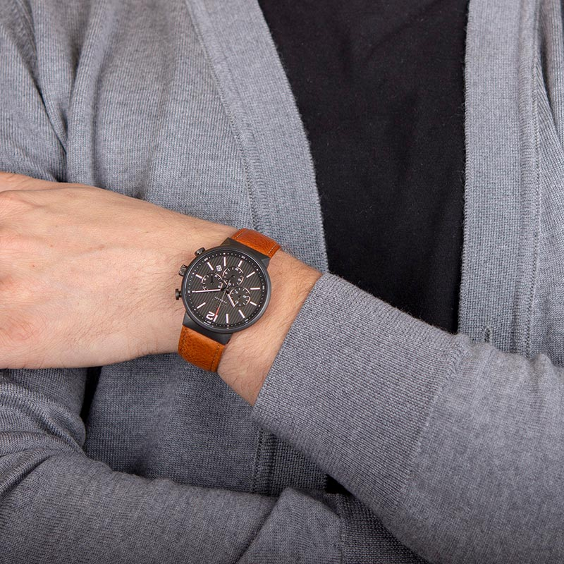 Obaku Men watch STORM - GUNTAN WRIST view