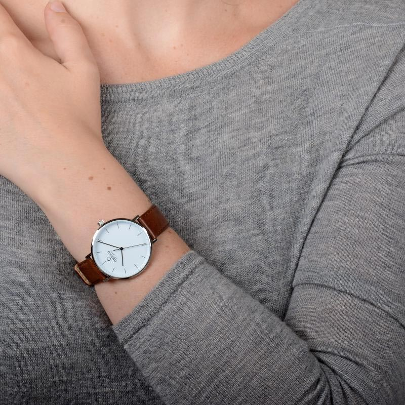 Obaku Women watch VEST - MOCHA WRIST view