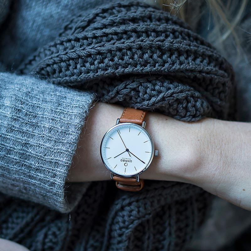 Obaku Women watch VEST - COGNAC SM1 view