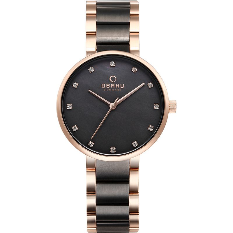 Obaku Women watch GLAD - CREPE FRONT view