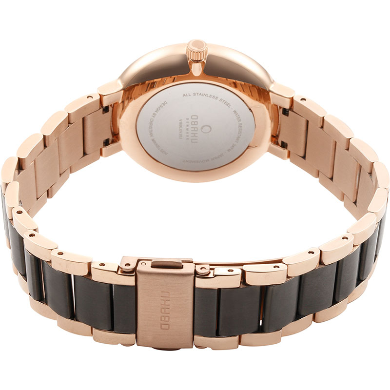 Obaku Women watch GLAD - CREPE CLOSE view
