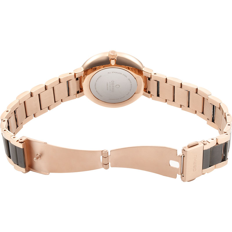 Obaku Women watch GLAD - CREPE OPEN view