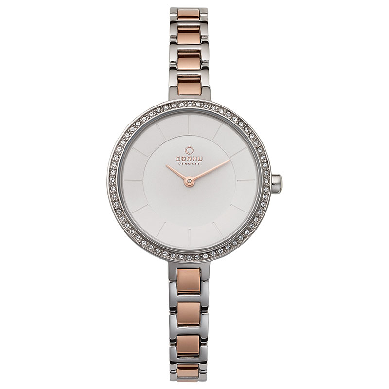 Obaku Women watch FROST - PEACH