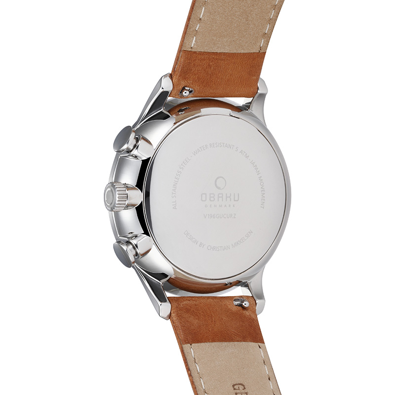 Obaku Men watch GRAN - CAMEL BACK view