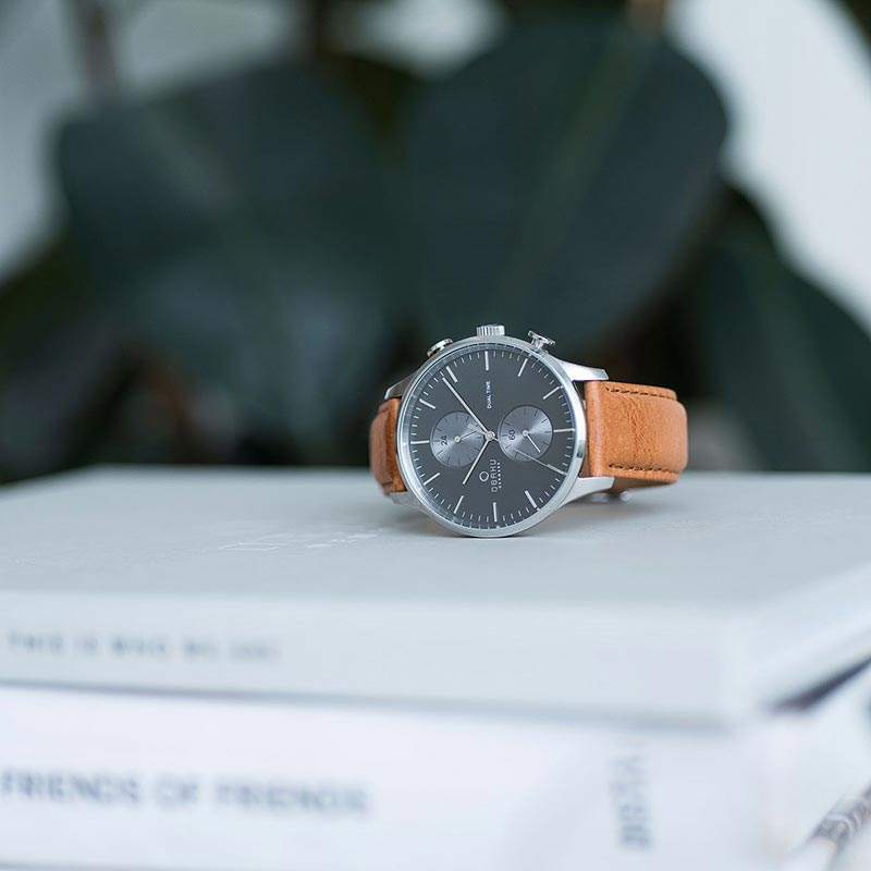 Obaku Men watch GRAN - CAMEL SM1 view