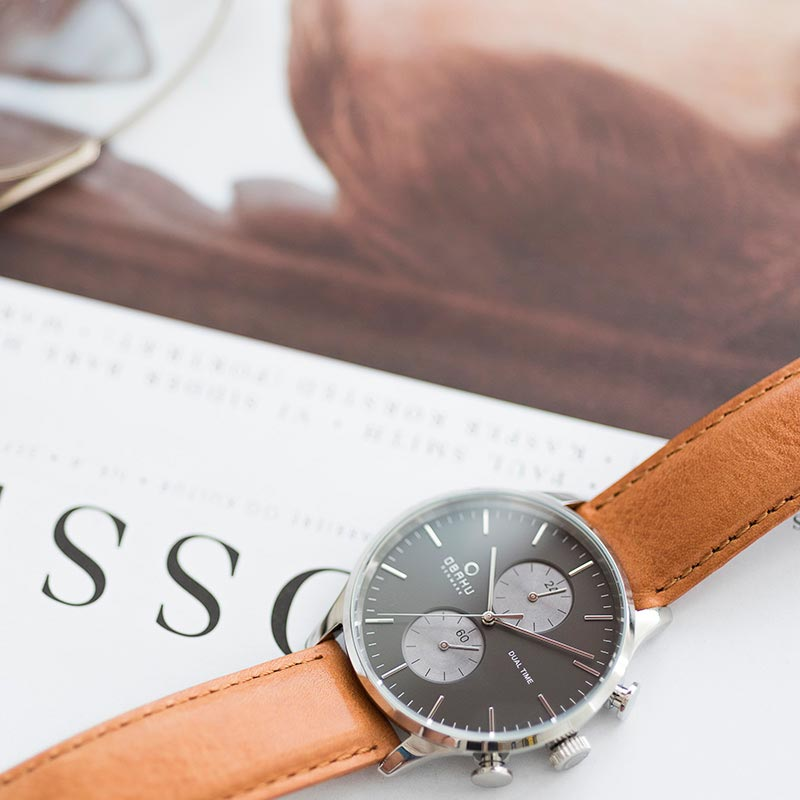 Obaku Men watch GRAN - CAMEL SM3 view