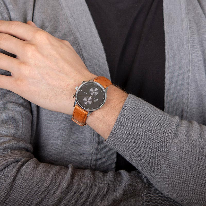 Obaku Men watch GRAN - CAMEL WRIST view
