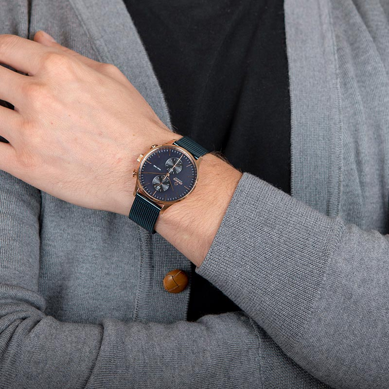 Obaku Men watch GRAN - OCEAN WRIST view