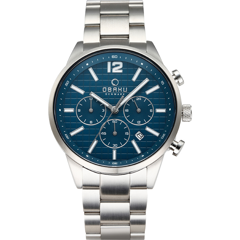 Obaku Men watch SKOV - DENIM