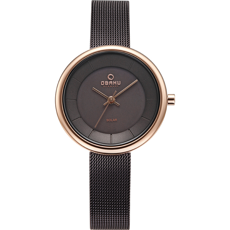 Obaku Women watch LYS - WALNUT