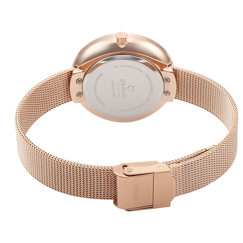 Obaku Women watch LYS - ROSE CLOSE view