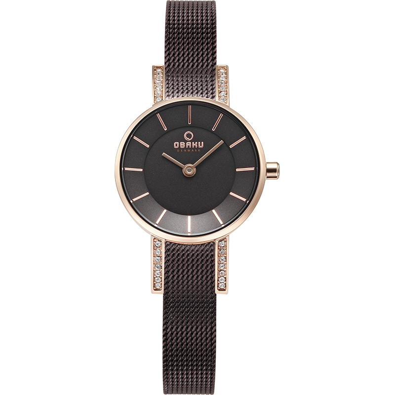 Obaku Women watch LYKKE - WALNUT