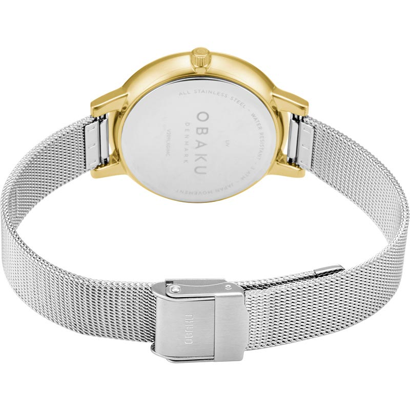 Obaku Women watch LIV - GOLD BI CLOSE view