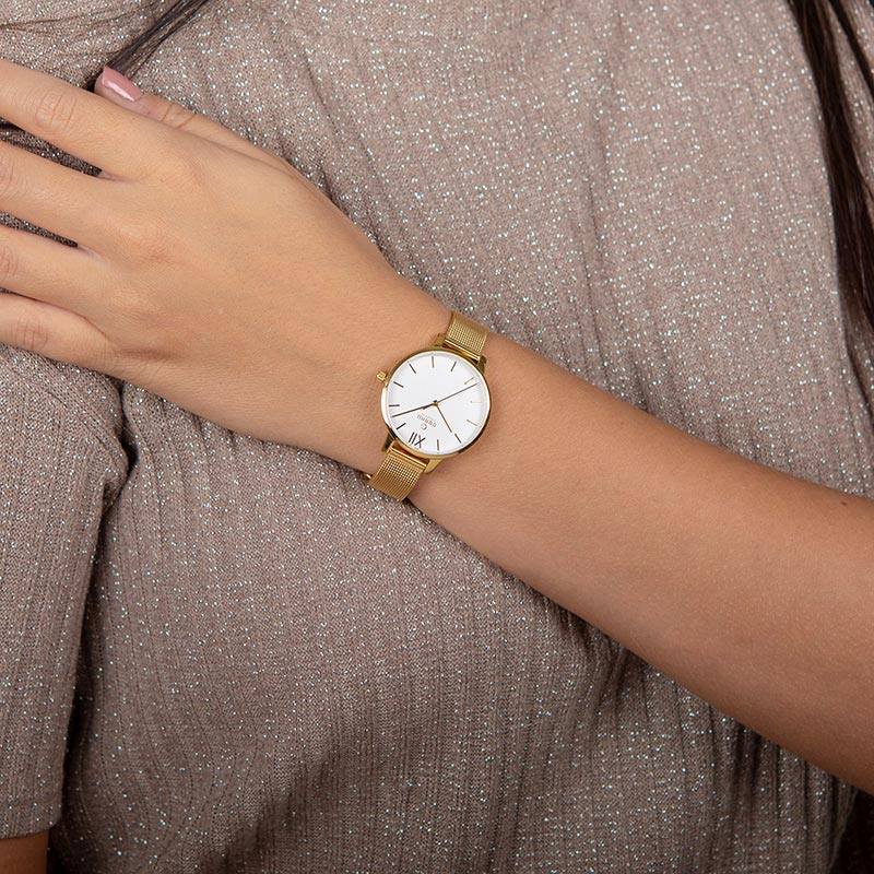 Obaku Women watch LIV - GOLD WRIST view