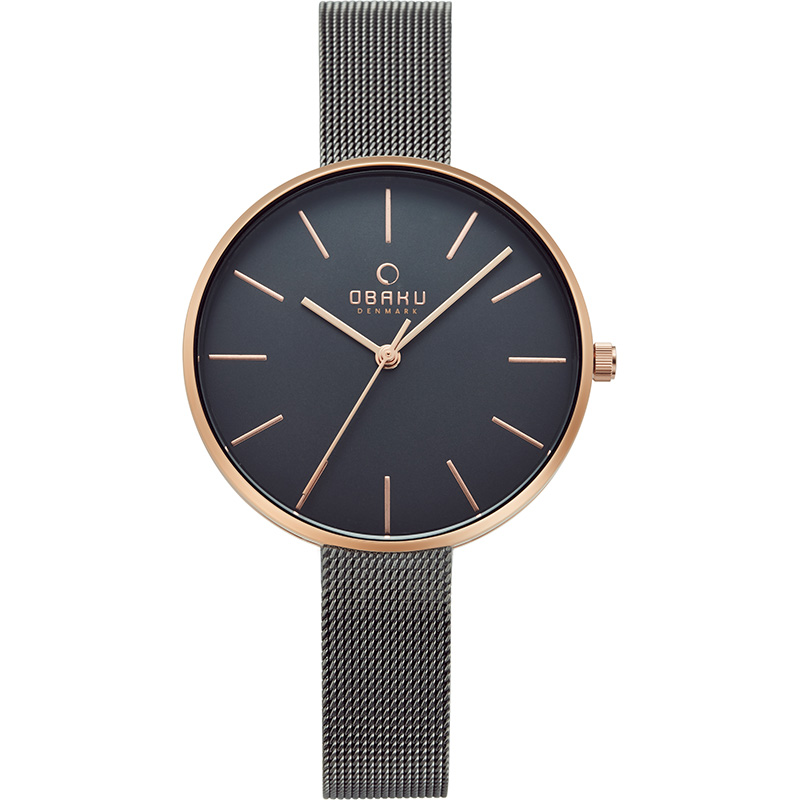 Obaku Women watch MYNTE - GRANITE FRONT view