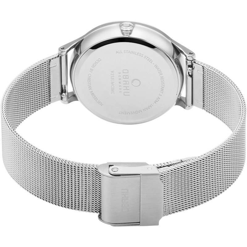 Obaku Women watch LIND - STEEL CLOSE view