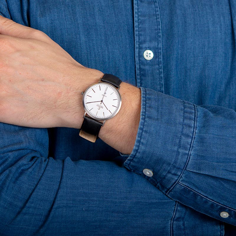 Obaku Men watch HAVRE - BLACKTITAN WRIST view