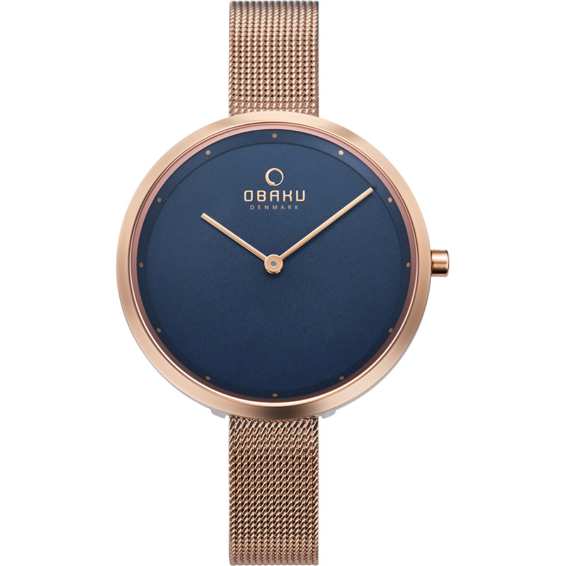 Obaku Women watch DOK - AZURE FRONT view