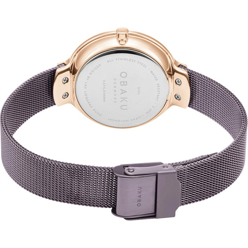 Obaku Women watch BIRK - WALNUT CLOSE view