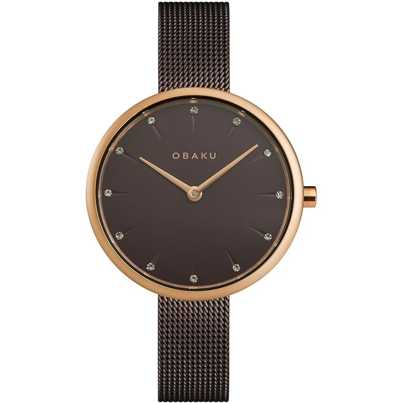 Obaku Women watch NOTAT - WALNUT