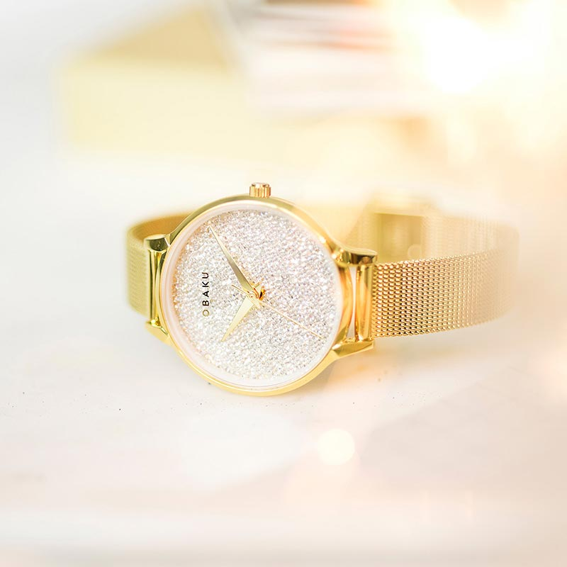 Obaku Women watch STJERNER - GOLD SM1 view