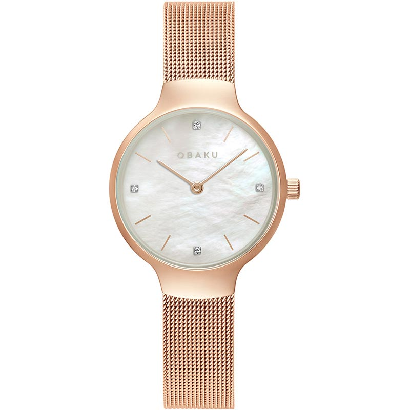 Obaku Women watch VIKKE - ROSE FRONT view