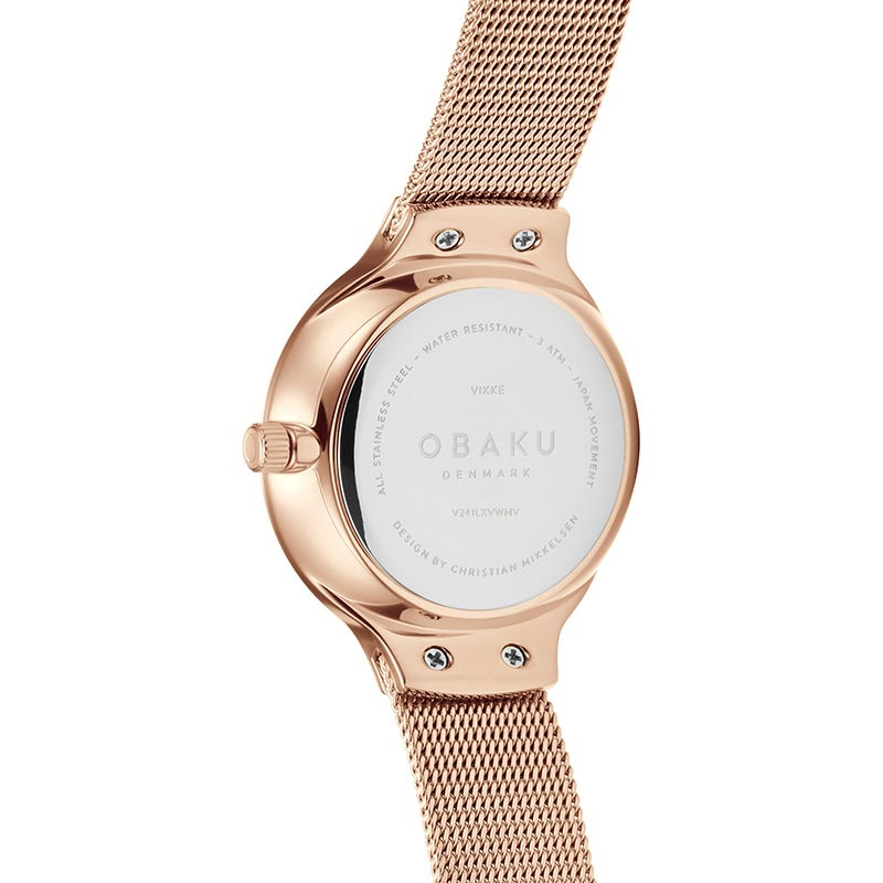 Obaku Women watch VIKKE - ROSE BACK view