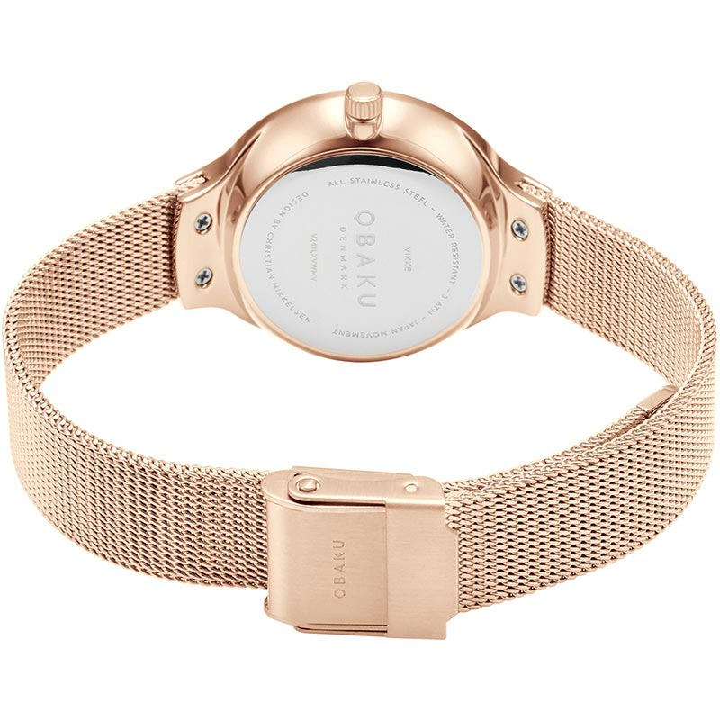 Obaku Women watch VIKKE - ROSE CLOSE view